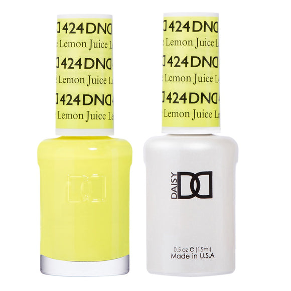 DND Duo Gel & Lacquer Lemon Juice #424