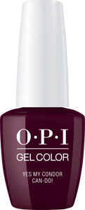 OPI GelColor YES MY CONDOR CAN-DO! #GCP41