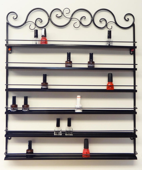 Wr023 wall rack metal 96 bottle