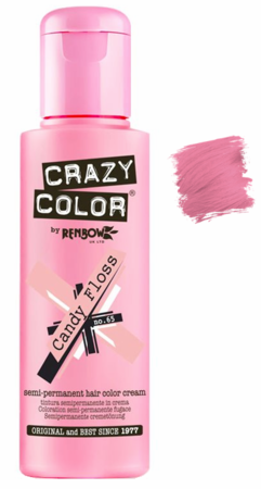 Crazy Color vibrant Shades -CC PRO 65 CANDY FLOSS 150ML-Beauty Zone Nail Supply