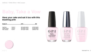 OPI GelColor Baby, Take a Vow #GCSH1