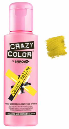 Crazy Color vibrant Shades -CC PRO 49 CANARY YELLOW 150ML