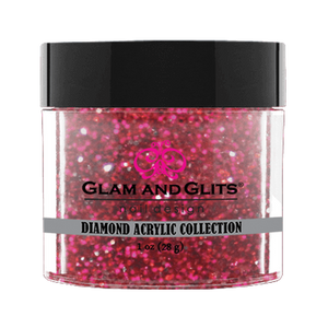 Glam & Glits Diamond Acrylic (Glitter) 1 oz Pink Pumps - DAC51