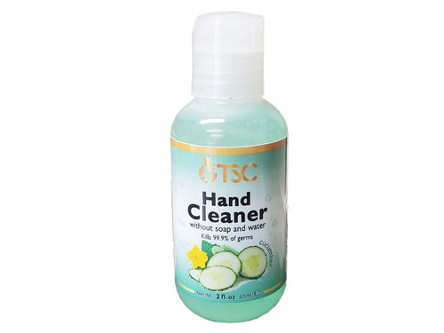 TSC Hand Sanitizer Pure Kills 99.99 of Germs 2 oz-Beauty Zone Nail Supply