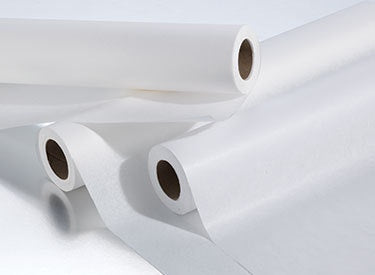 APEX WHITE TABLE PAPER 1 ROLL-Beauty Zone Nail Supply