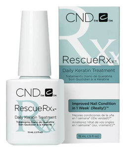 Cnd Rescuerxx Treatment 0.5 Oz #07635-Beauty Zone Nail Supply