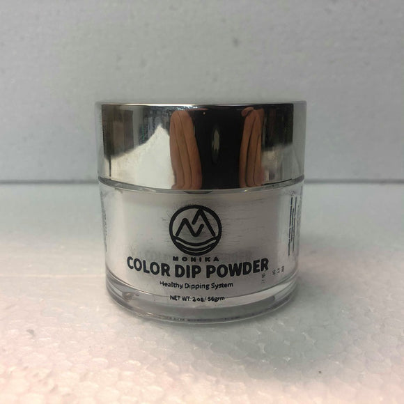 Monika Color Dip Powder #902 French White 2 oz / 56 gr