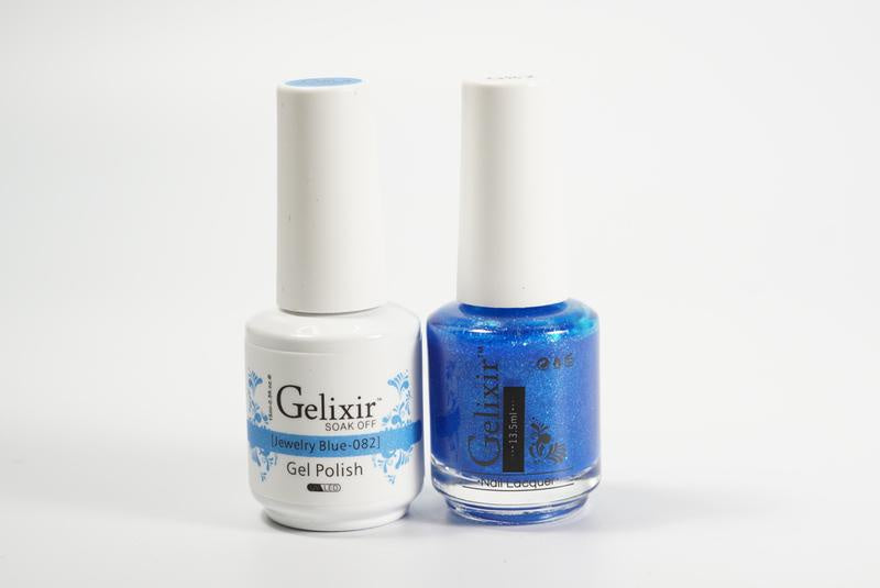 Gelixir Duo Gel & Lacquer Jewelry Blue 1 PK #082-Beauty Zone Nail Supply