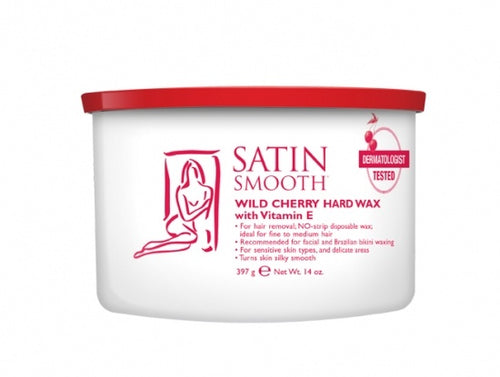 Satin Smooth Wild Cherry Wax #Ssw14Chg