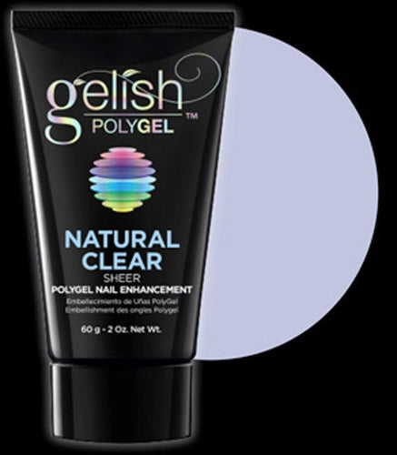 Gelish Polygel Natural Clear 2 oz #1712001-Beauty Zone Nail Supply