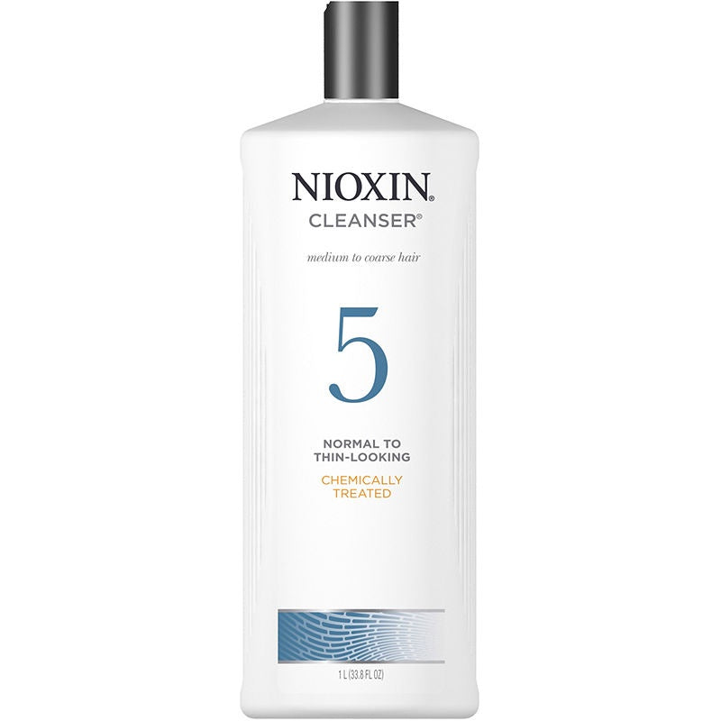 Nioxin Scalp Therapy 5 Cleanser Med/Coarse 33.8 oz