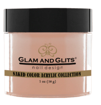 Glam & Glits Naked Color Acrylic Powder (Cream) 1 oz Never Enough Nude - NCAC396