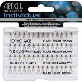 Ardell Knot Free Combo Brown #65064