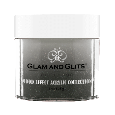 Glam & Glits Mood Acrylic Powder (Glitter) 1 oz  Aftermath  - ME10011
