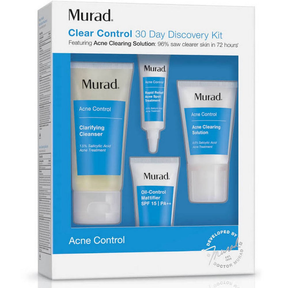 Murad Acne Control Clear Control 30 Day Discovery Kit 10842