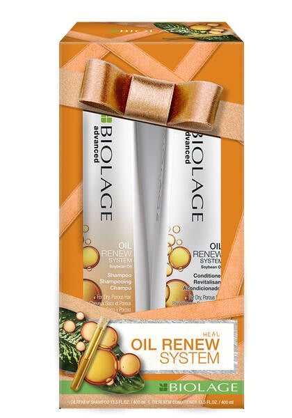 Biolage Advanced Oil Renew Shampoo and Conditioner Holiday Kit
