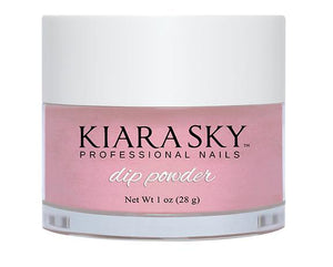 Kiara Sky DIP POWDER -D405 YOU MAKE ME BLUSH