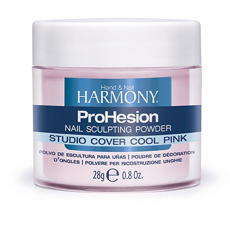 Harmony ProHesion Nail Powder Studio Cover Cool Pink-Beauty Zone Nail Supply