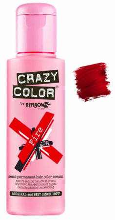 Crazy Color vibrant Shades -CC PRO 56 FIRE 150ML-Beauty Zone Nail Supply