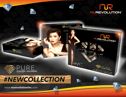 Nurevolution Dip Powder Diamond Collection-Black Kit
