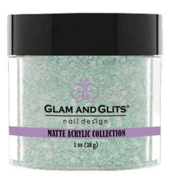 Glam & Glits Matte Acrylic Powder 1 oz Sweet Mint-MAT611