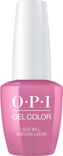 OPI GelColor SUZI WILL QUENCHUA LATER! #GCP31