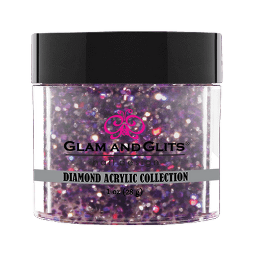 Glam & Glits Diamond Acrylic (Shimmer) 1 oz Purple Vixen - DAC45