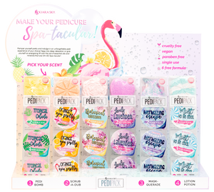 Kiara Sky Pedipack Collection 6 Scent-Beauty Zone Nail Supply