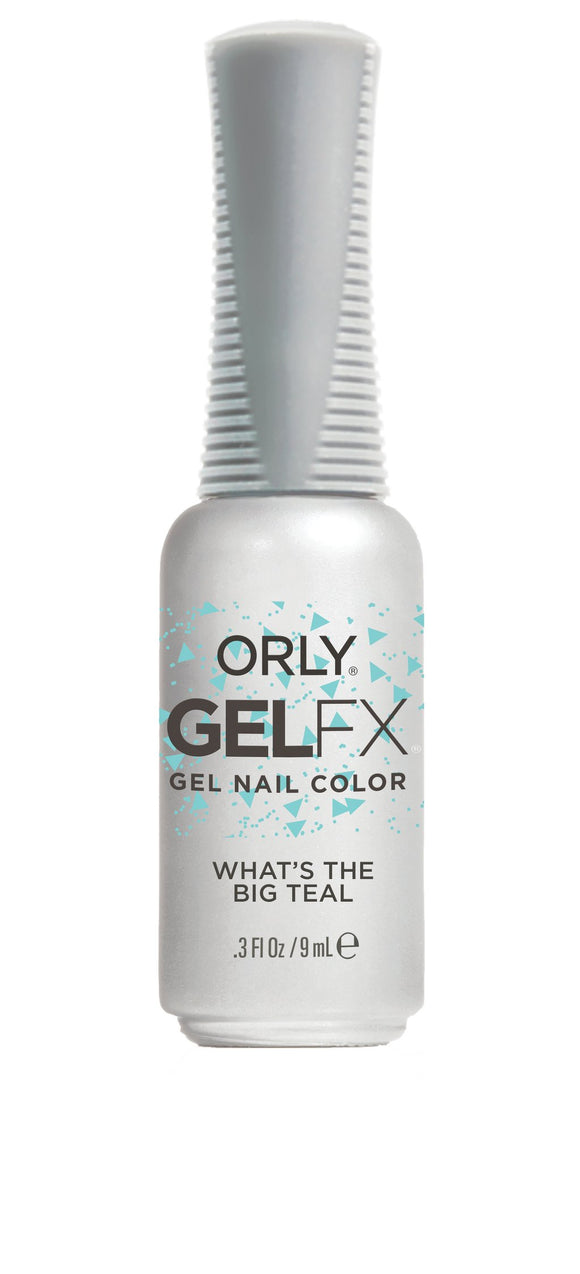 Orly Duo What's The Big Teal (Lacquer + Gel) MAY 2019 .6oz / .3oz 3500006