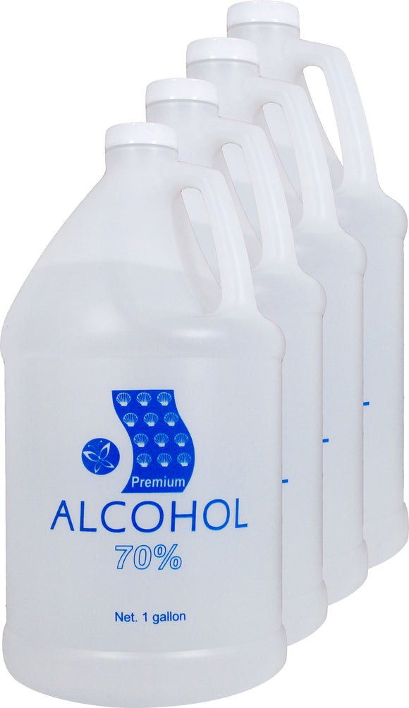 Isopropyl Rubbing Alcohol 70%  (CASE4 Gallon)