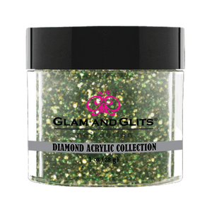 Glam & Glits Diamond Acrylic (Glitter) 1 oz Green Smoke - DAC57