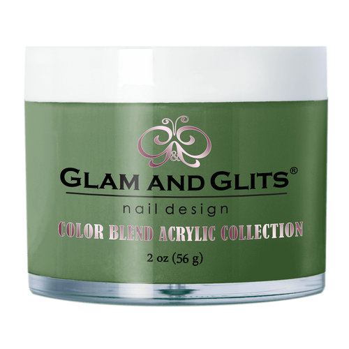 Glam & Glits Acrylic Powder Color Blend (Cream) 2 oz Olive You! - BL3070-Beauty Zone Nail Supply