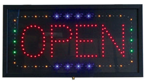 LED OPEN SIGN RETANGLE #LED3