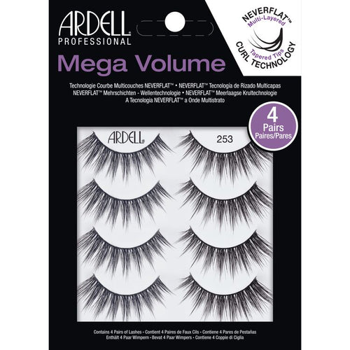 Ardell Mega Volume 253 4 Pack-Beauty Zone Nail Supply