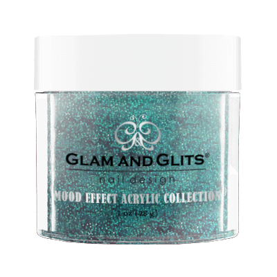 Glam & Glits Mood Acrylic Powder (Glitter) 1 oz Tidal Wave - ME1007-Beauty Zone Nail Supply