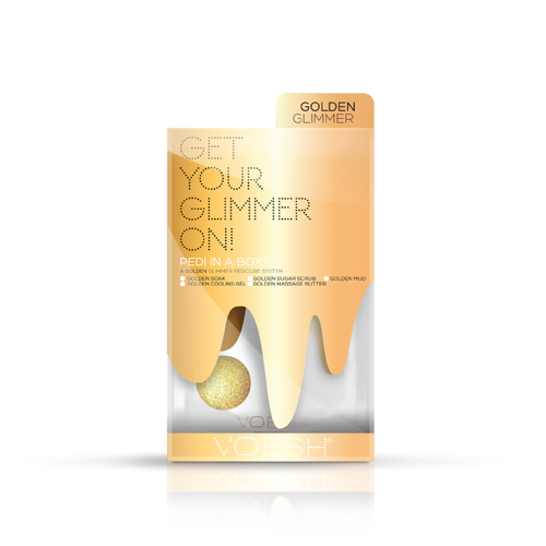Voesh Gold Glimmer 5 Step Case 50 pack-Beauty Zone Nail Supply