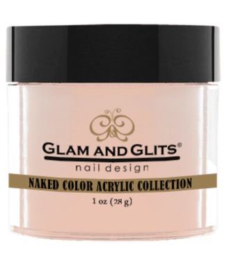 Glam & Glits Naked Color Acrylic Powder (Cream) 1 oz Beyond Pale - NCAC401-Beauty Zone Nail Supply