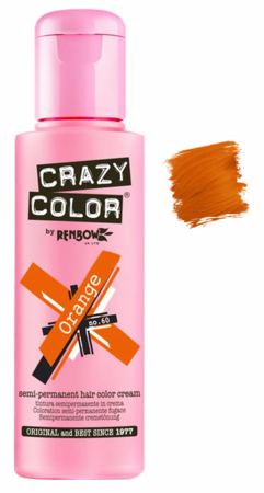 Crazy Color vibrant Shades -CC PRO 60 ORANGE 150ML-Beauty Zone Nail Supply