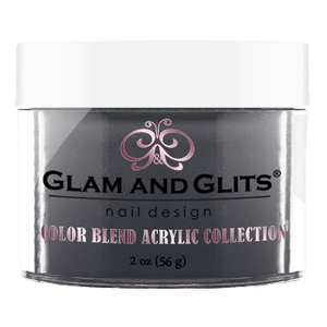 Glam & Glits Acrylic Powder Color Blend Midnight Glaze 2 Oz- Bl3047-Beauty Zone Nail Supply