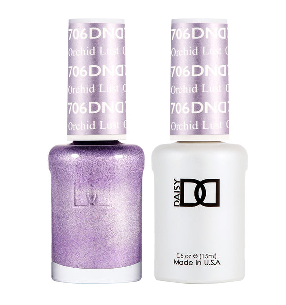 DND Duo Gel & Lacquer Orchid Lust #706