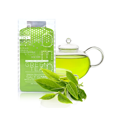 VOESH PEDI GREEN TEA DETOX 3 STEP