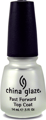 China Glaze Fast Forward Top Coat 0.5 oz 70578