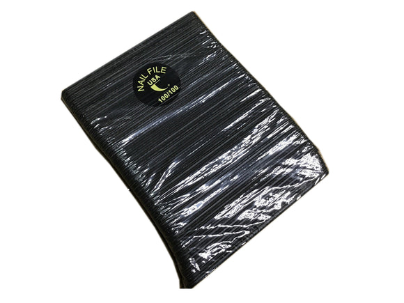 REG 100/100 BLACK/B FILE Pack #F155P