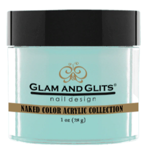 Glam & Glits Naked Color Acrylic Powder (Cream) 1 oz Endless Sea - NCAC417