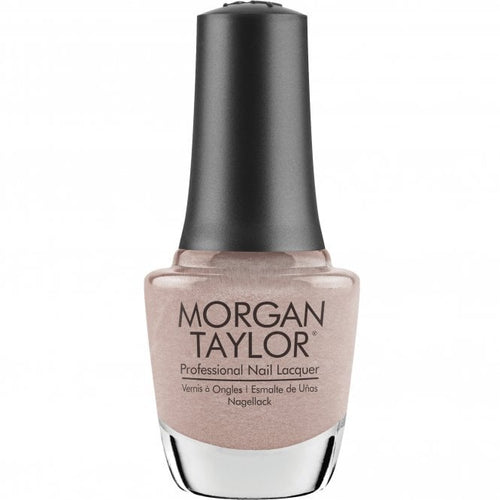 Morgan Taylor Nail Lacquer tell her she's stellar - nude creme 15 mL | .5 fl oz #365