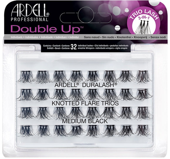 Ardell Double Up Knotted Trios Individuals Medium 66494
