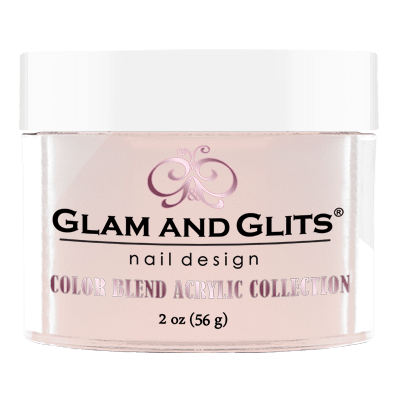 Glam & Glits Acrylic Powder Color Blend Pinky Promise 2 Oz- Bl3018-Beauty Zone Nail Supply