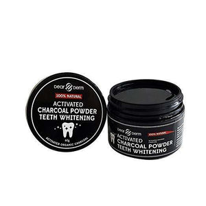 Dearderm Activated Charcoal Powder Teeth