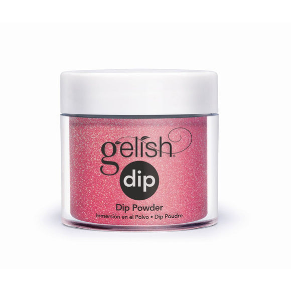 Gelish Dip Hip Hot Coral COLORED POWDERS 23g (0.8 Oz) #1610222""