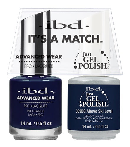IBD Gel Polish DUO Above Ski Level 14mL / 0.5 fl oz #65251